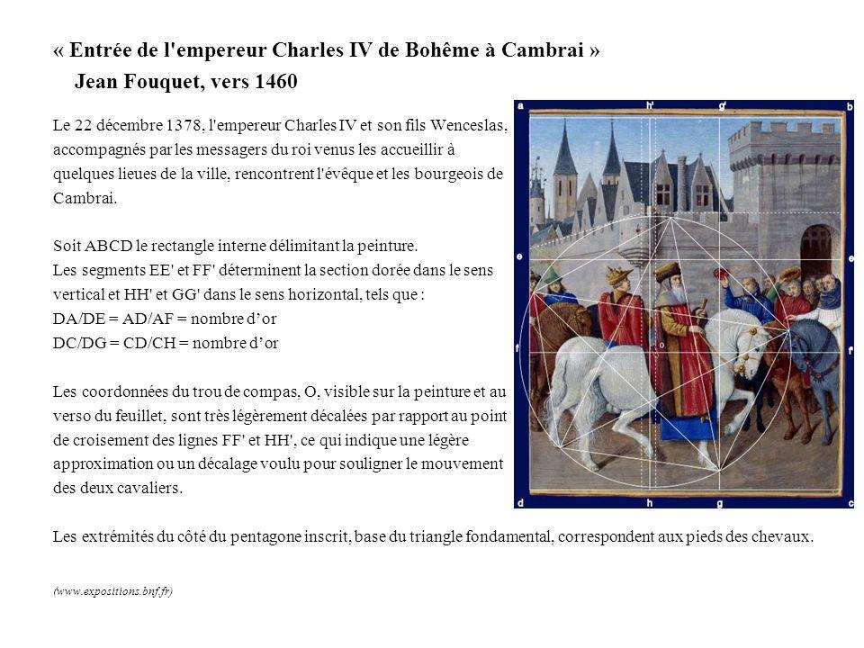 « Entrée de l empereur Charles IV de Bohême à Cambrai »