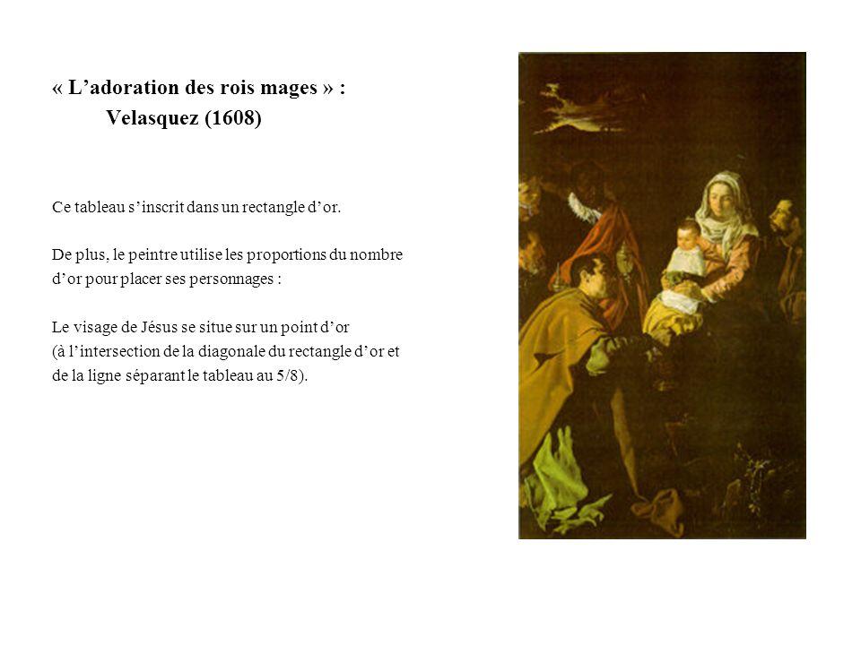 « L'adoration des rois mages » : Velasquez (1608)