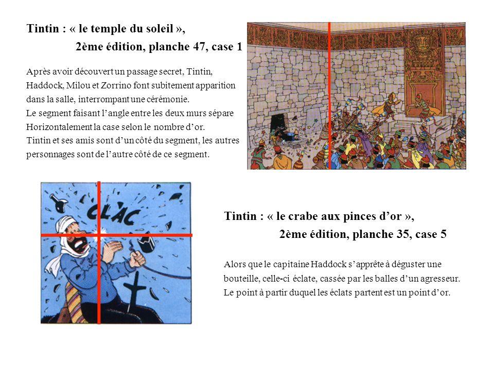 Tintin : « le temple du soleil », 2ème édition, planche 47, case 1