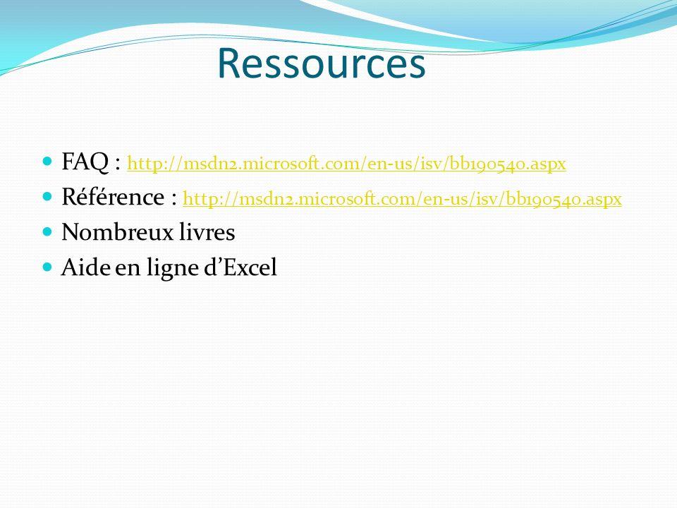 Ressources FAQ : http://msdn2.microsoft.com/en-us/isv/bb190540.aspx