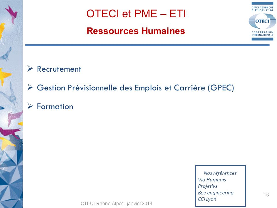 OTECI et PME – ETI Ressources Humaines