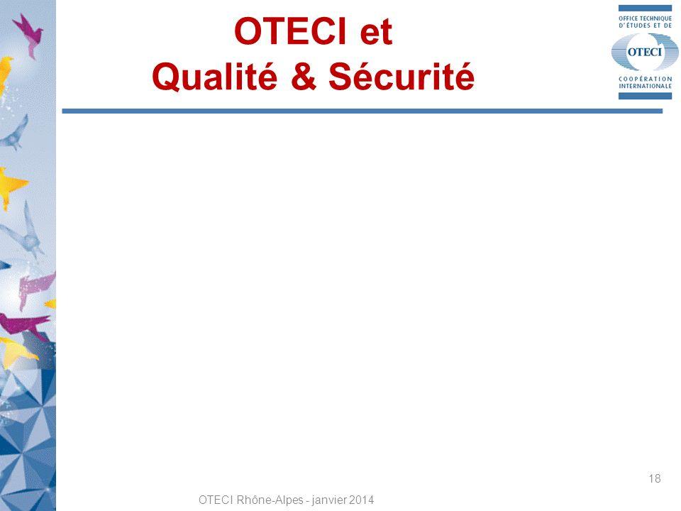 OTECI et Qualité & Sécurité