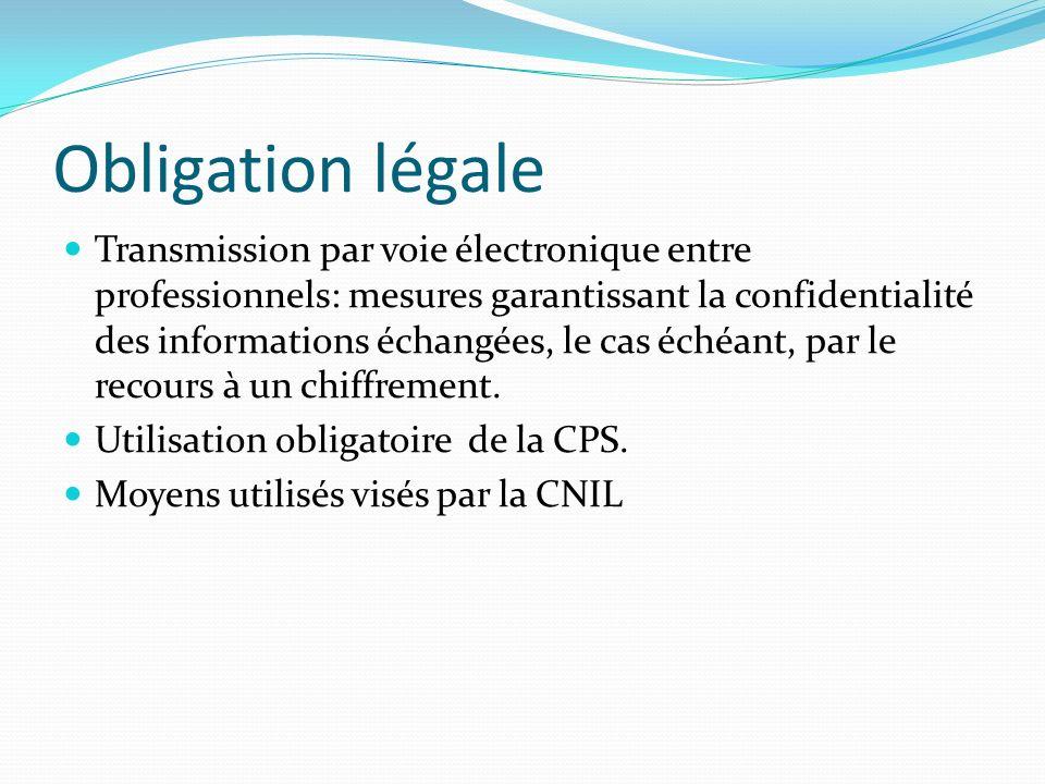 Obligation légale