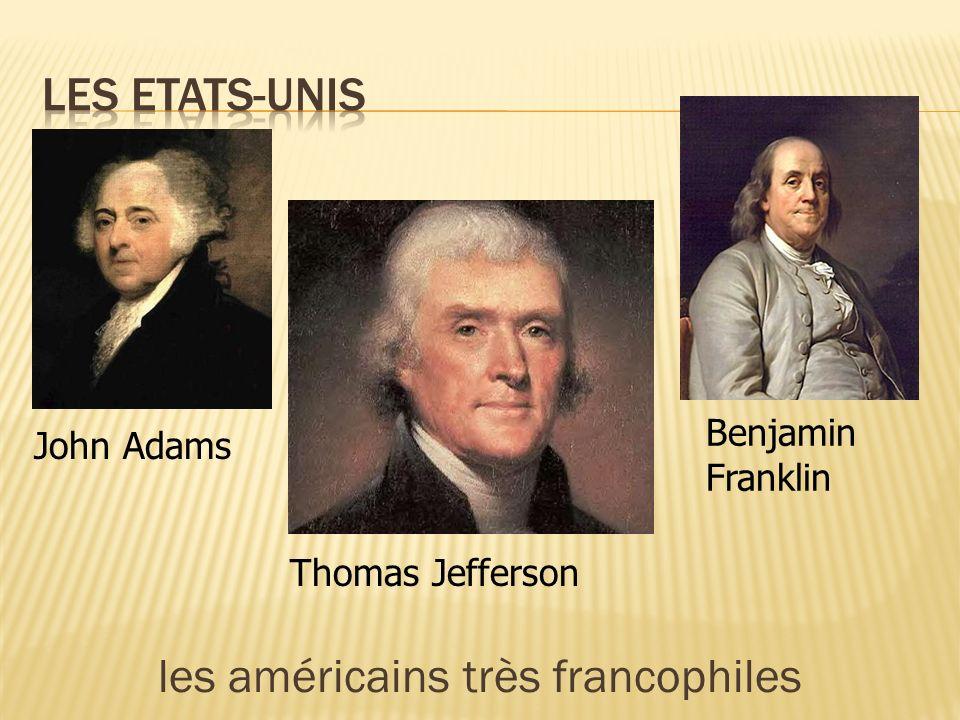 les américains très francophiles