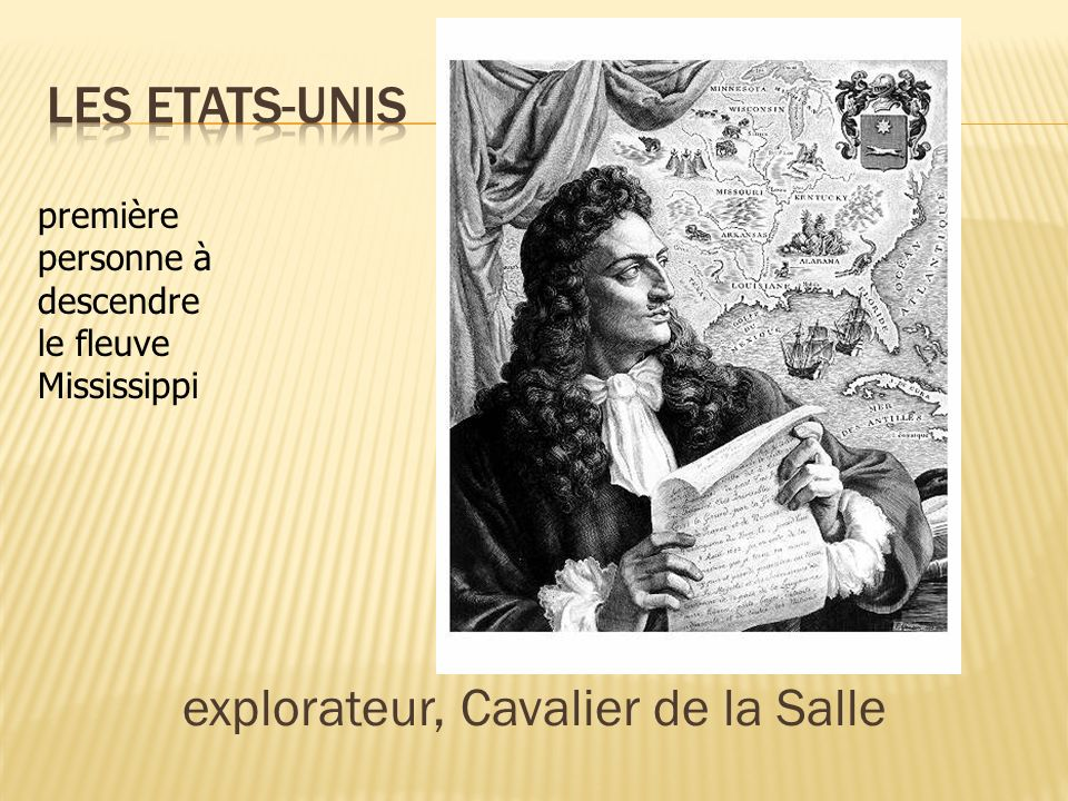 explorateur, Cavalier de la Salle