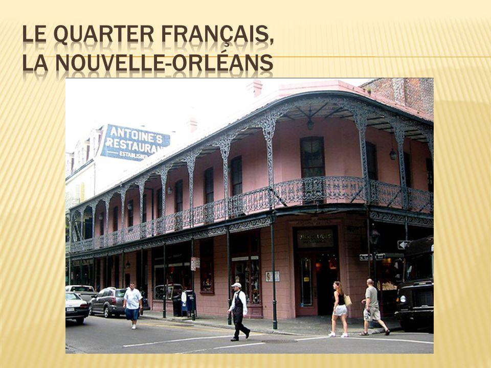 Le quarter français, la Nouvelle-Orléans
