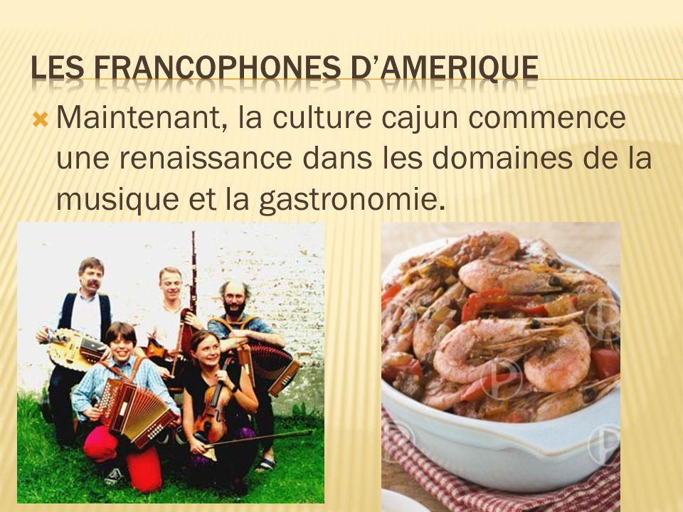 Les francophones d'Amerique