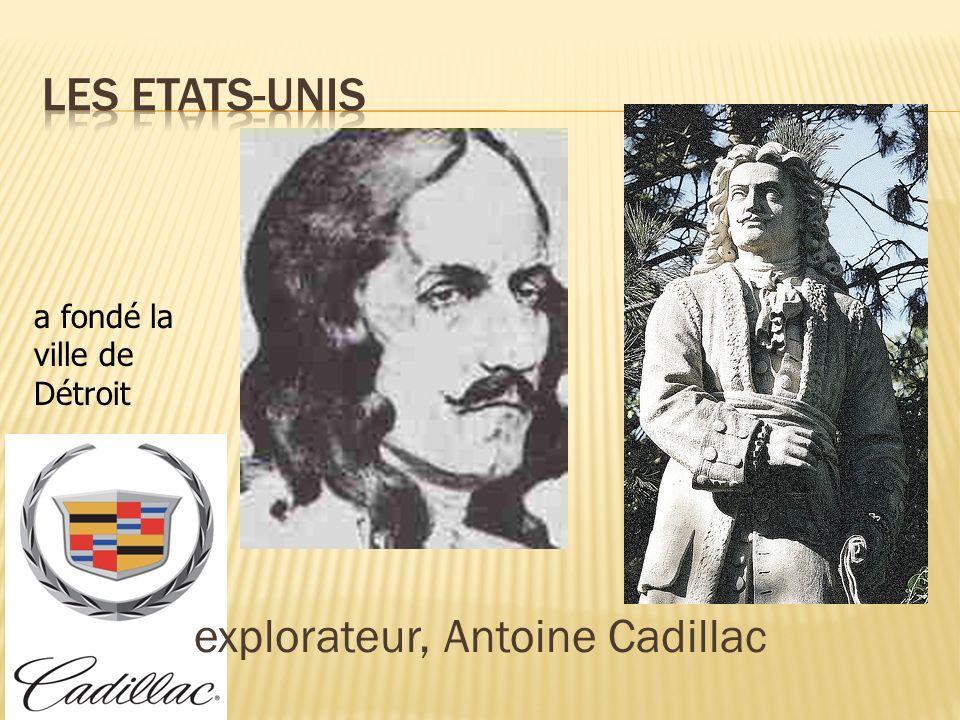 explorateur, Antoine Cadillac