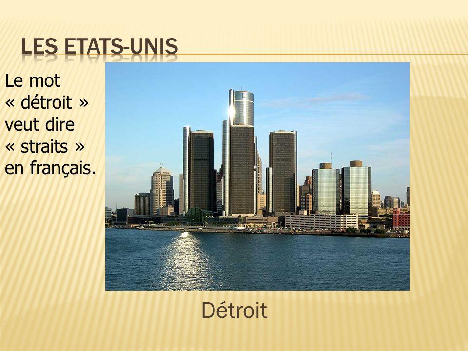 Les Etats-Unis Détroit