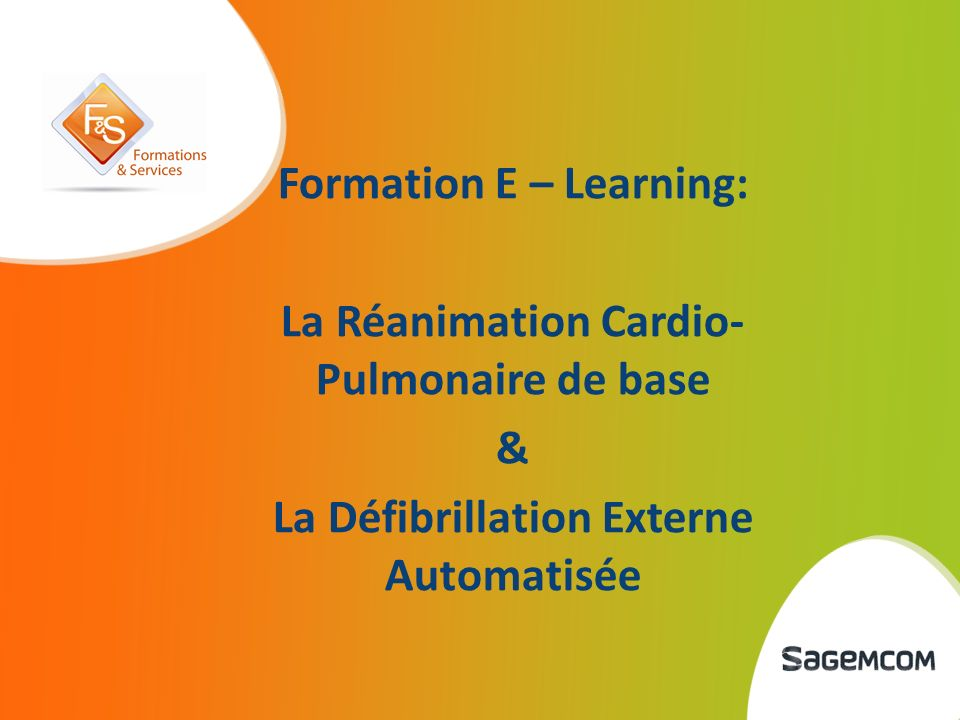 Formation E – Learning: La Réanimation Cardio-Pulmonaire de base
