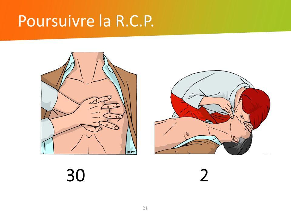 Poursuivre la R.C.P. 30 2