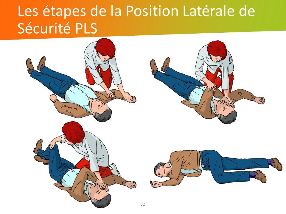 Les étapes de la Position Latérale de Sécurité PLS