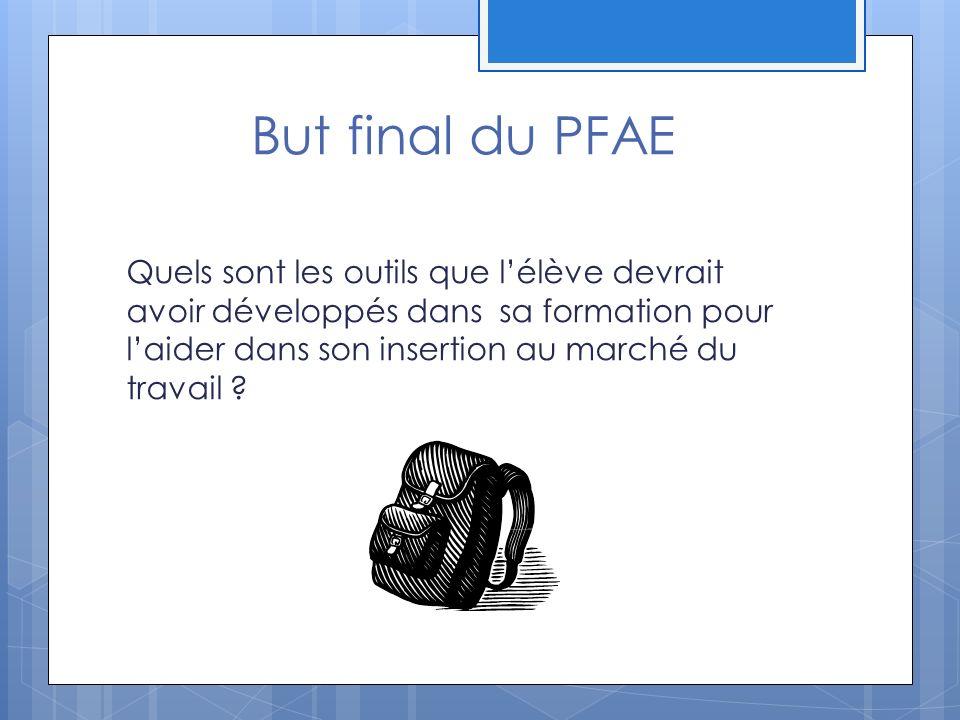 But final du PFAE