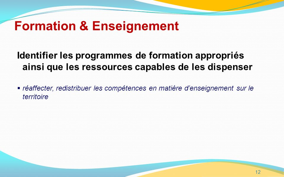 Formation & Enseignement