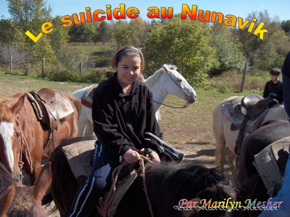 Le suicide au Nunavik Par Marilyn Mesher