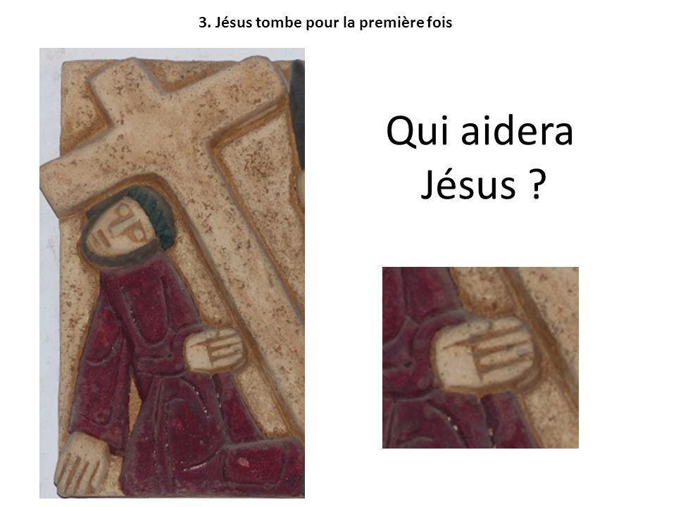 3. Jésus tombe pour la première fois