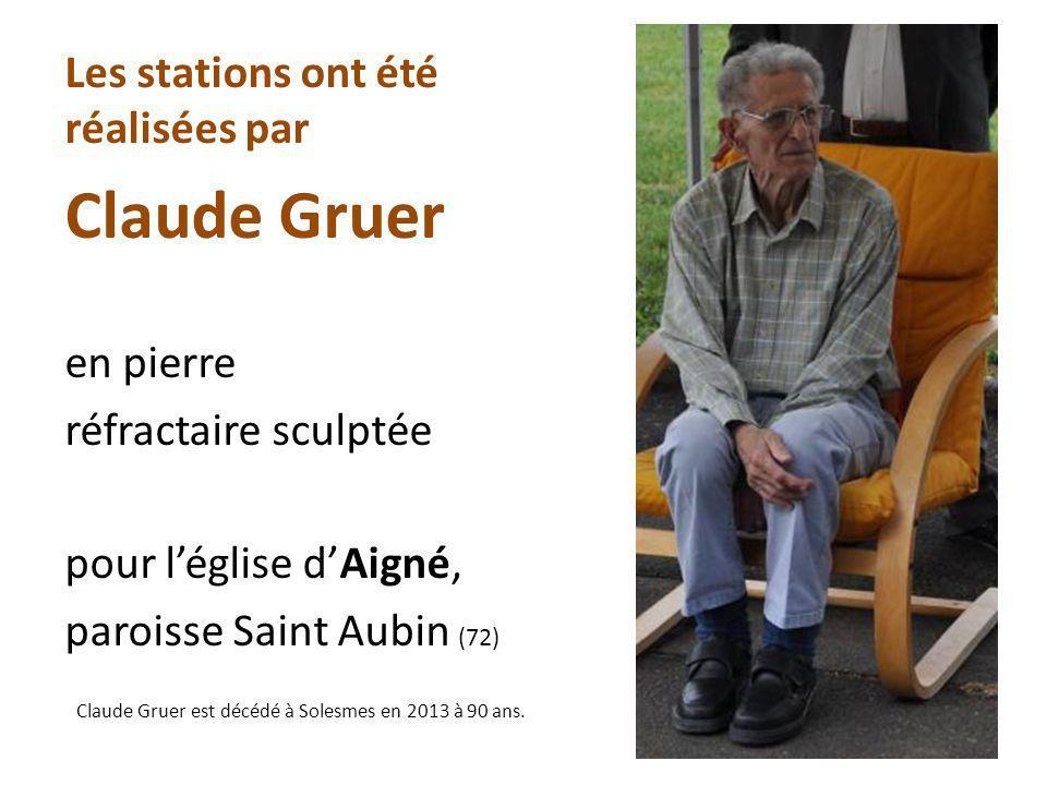 Claude Gruer Les stations ont été réalisées par en pierre