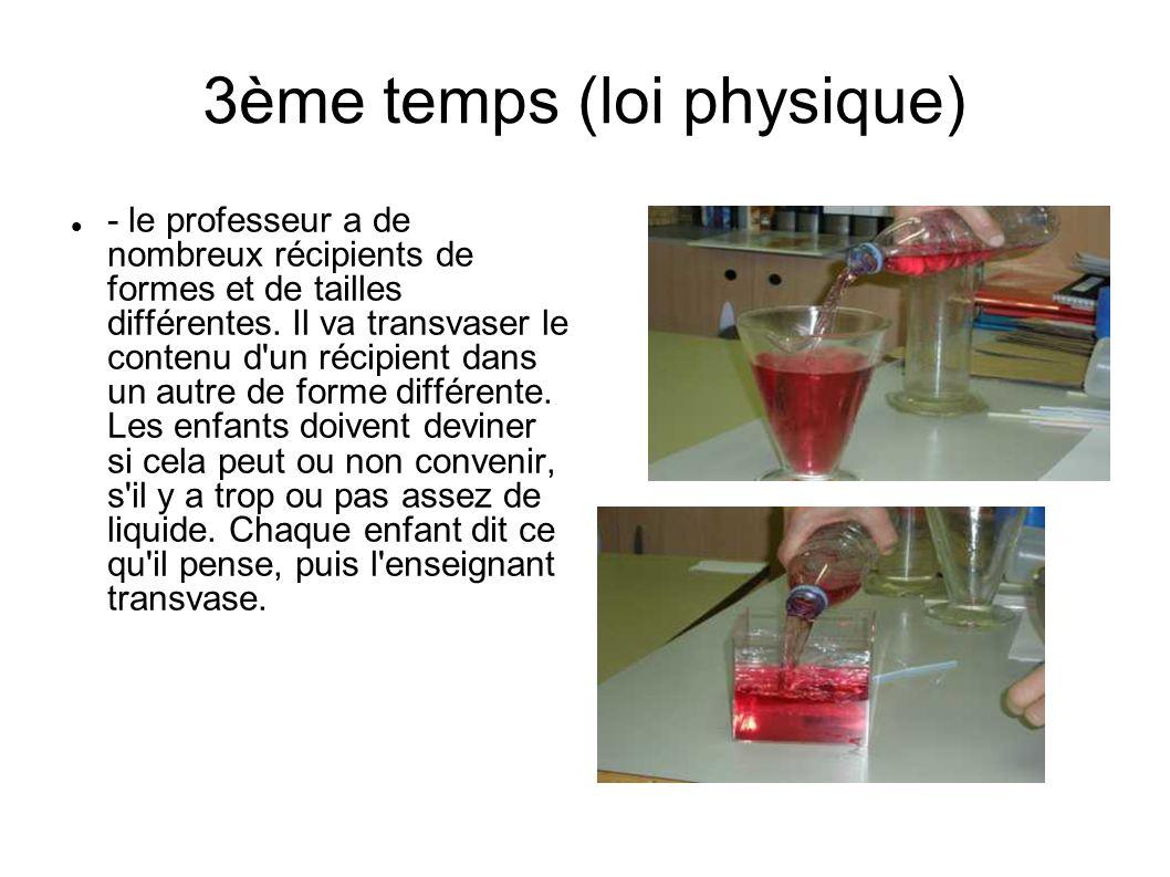 3ème temps (loi physique)