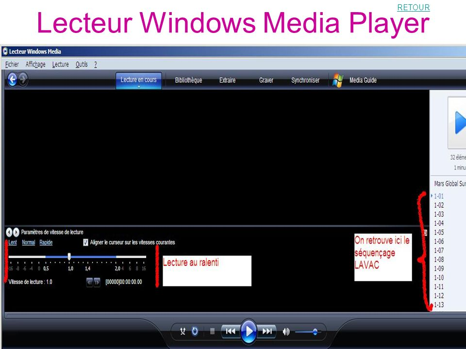 Lecteur Windows Media Player
