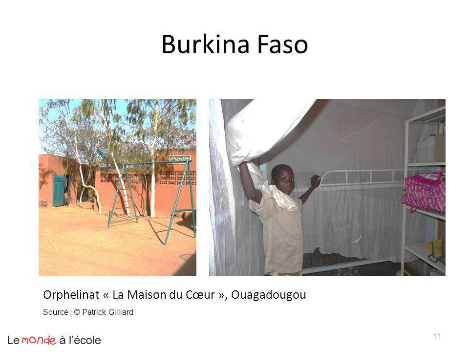 Burkina Faso Orphelinat « La Maison du Cœur », Ouagadougou