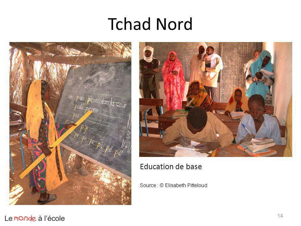 Tchad Nord Education de base Source : © Elisabeth Pitteloud