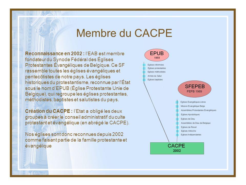Membre du CACPE