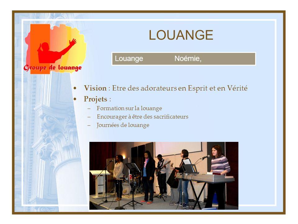 LOUANGE Louange Noémie,