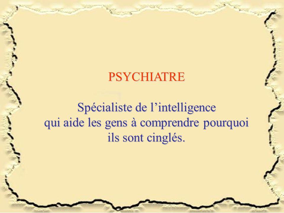 Spécialiste de l'intelligence