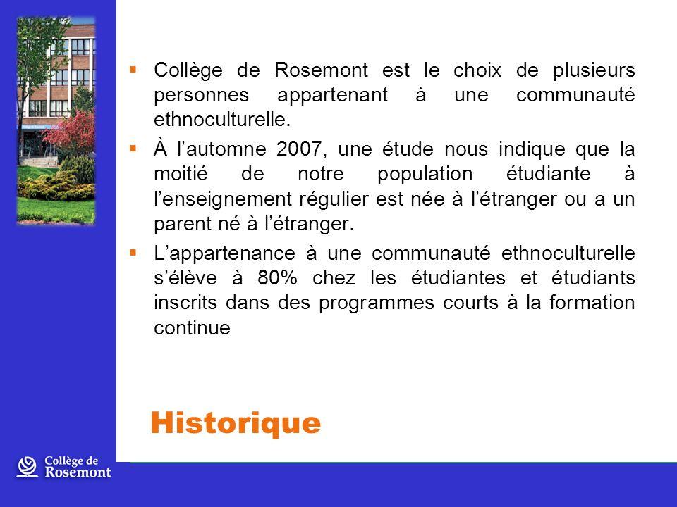 Collège de Rosemont est le choix de plusieurs personnes appartenant à une communauté ethnoculturelle.