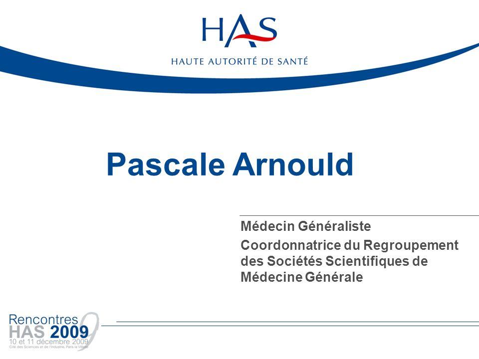 Pascale Arnould Médecin Généraliste