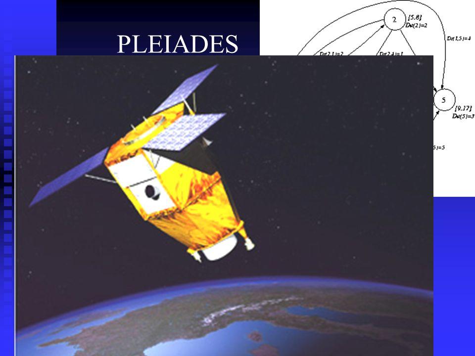 PLEIADES Programmation des prises de vues d'un satellite d'observation