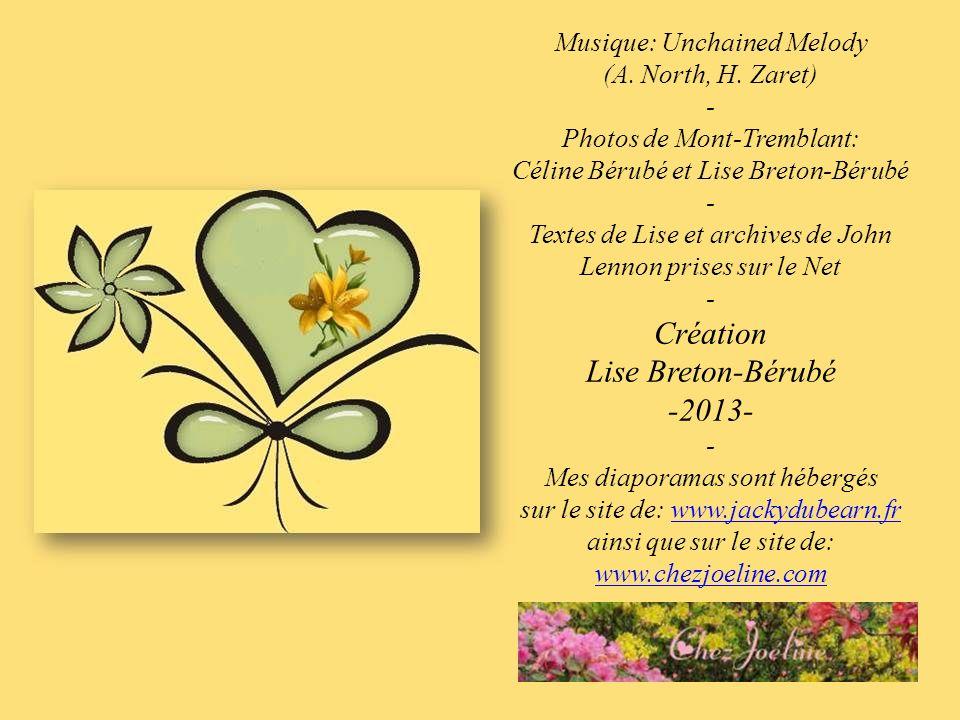 Création Lise Breton-Bérubé -2013- Musique: Unchained Melody