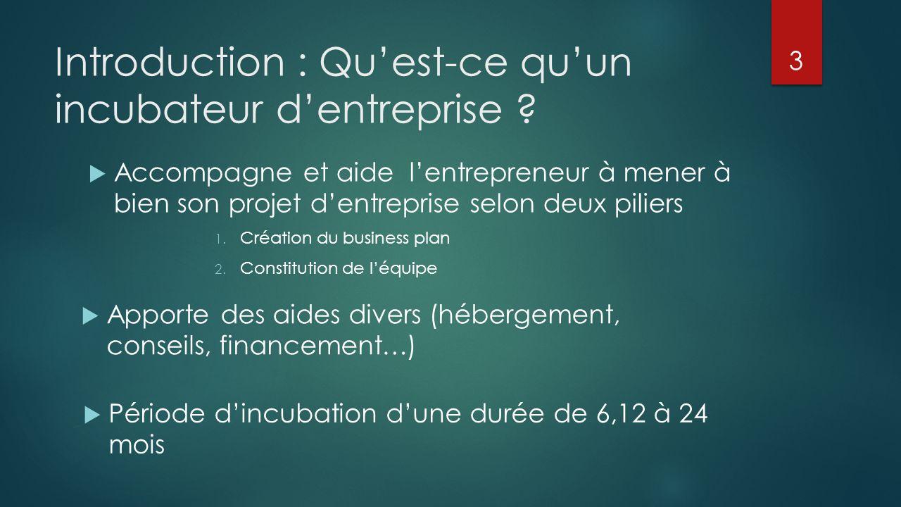Introduction : Qu'est-ce qu'un incubateur d'entreprise