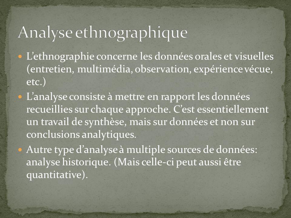 Analyse ethnographique
