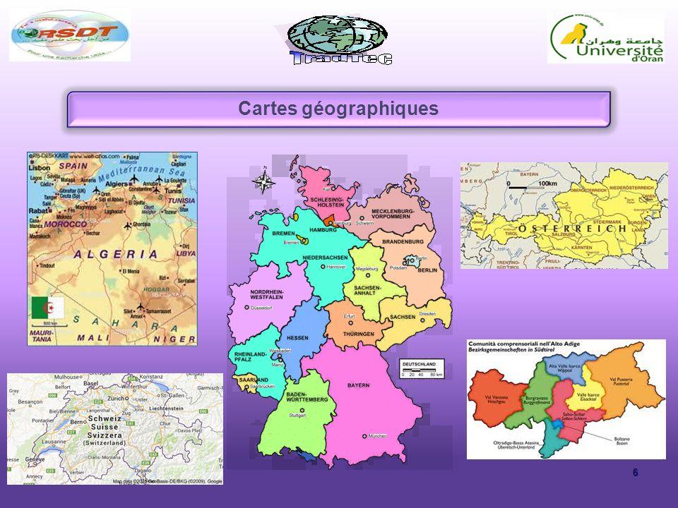 Cartes géographiques 6