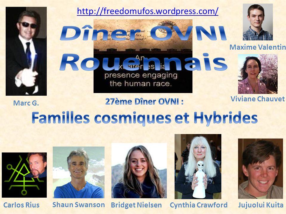 Familles cosmiques et Hybrides