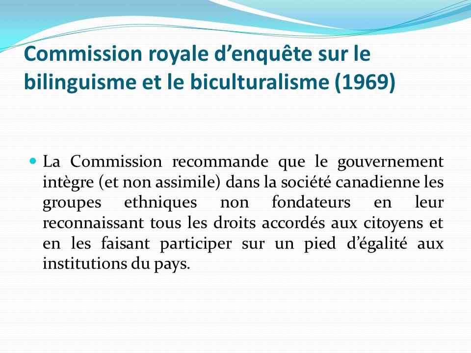 Commission royale d'enquête sur le bilinguisme et le biculturalisme (1969)