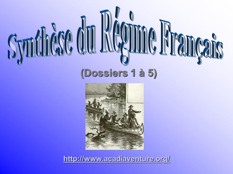 Synthèse du Régime Français