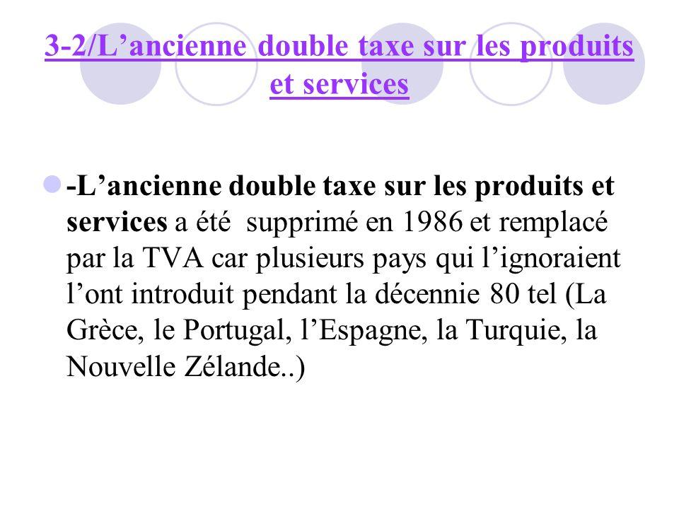 3-2/L'ancienne double taxe sur les produits et services
