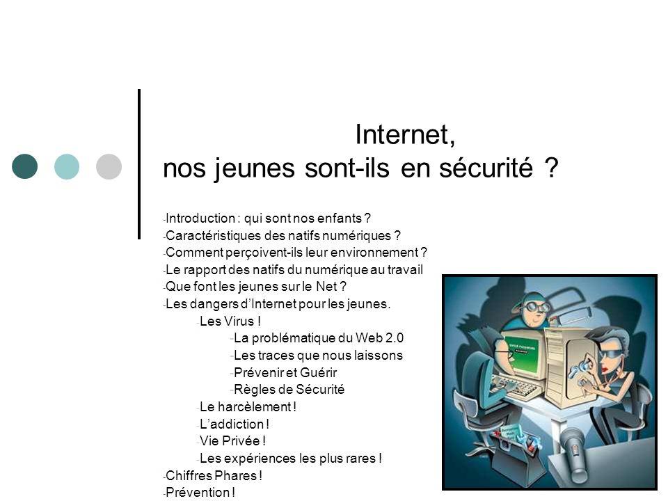 Internet, nos jeunes sont-ils en sécurité