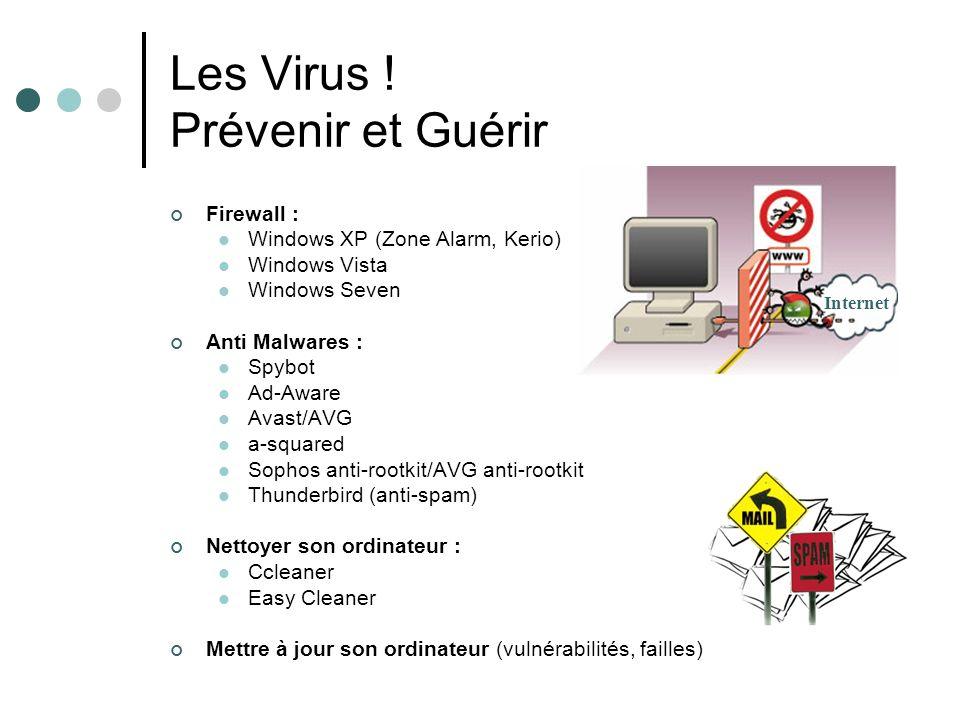 Les Virus ! Prévenir et Guérir