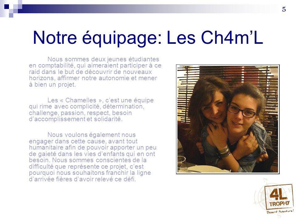 Notre équipage: Les Ch4m'L