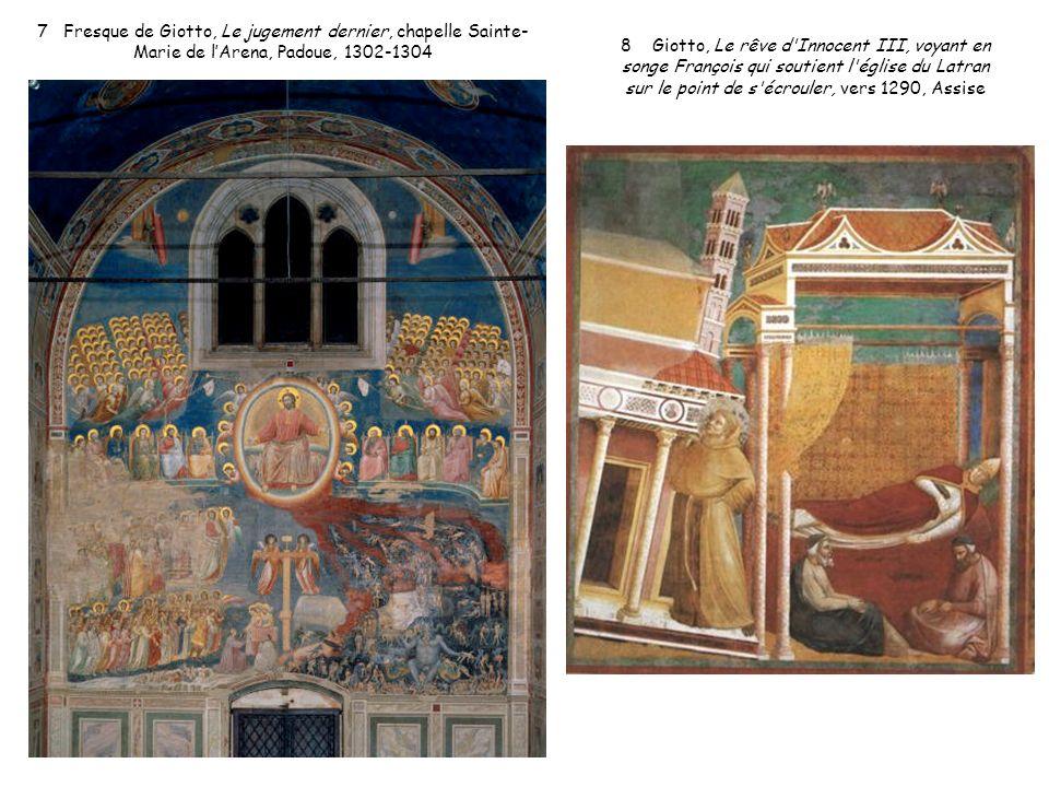 7 Fresque de Giotto, Le jugement dernier, chapelle Sainte-Marie de l'Arena, Padoue, 1302-1304