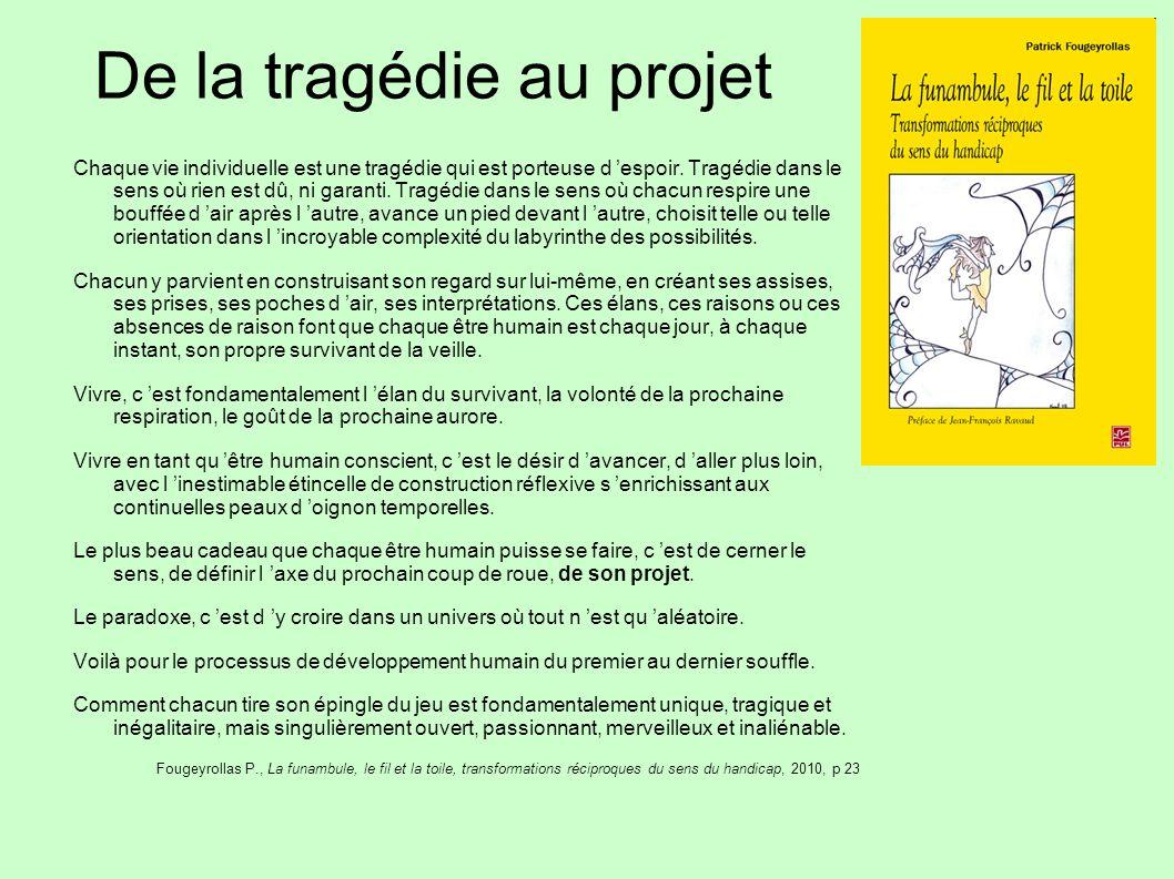 De la tragédie au projet