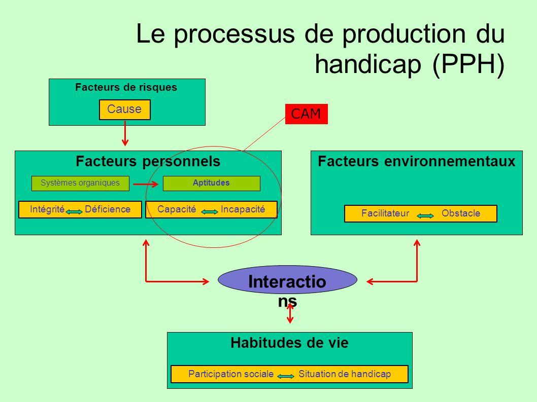 Le processus de production du handicap (PPH)