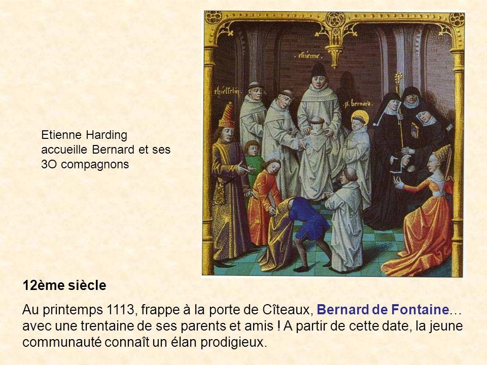 Etienne Harding accueille Bernard et ses 3O compagnons