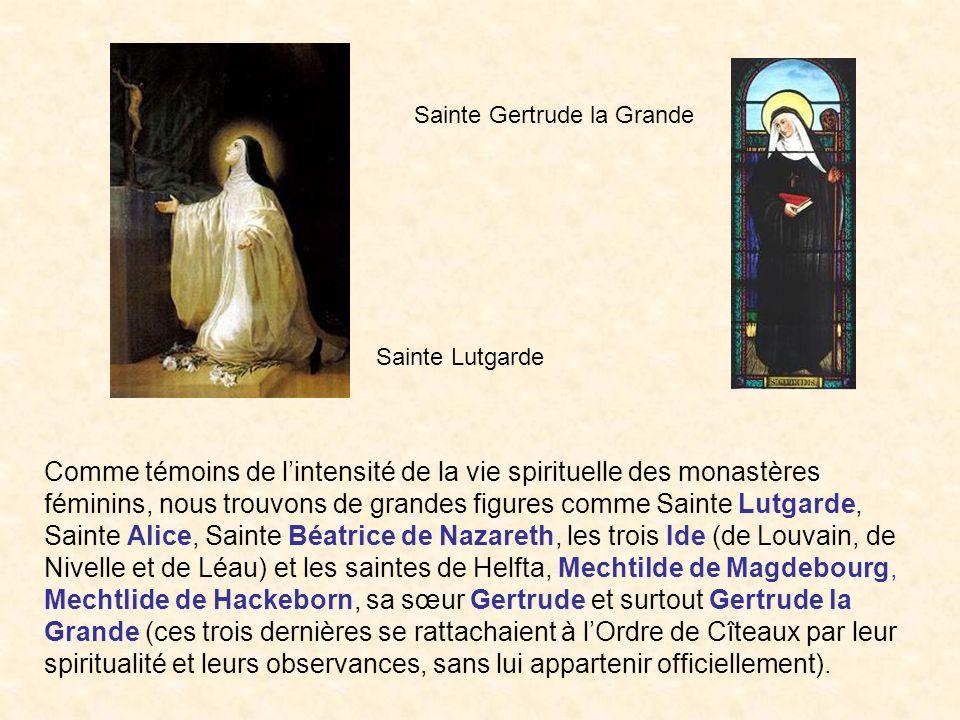 Sainte Gertrude la Grande