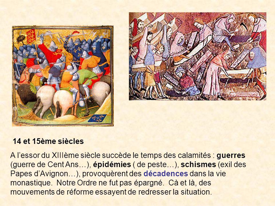 14 et 15ème siècles