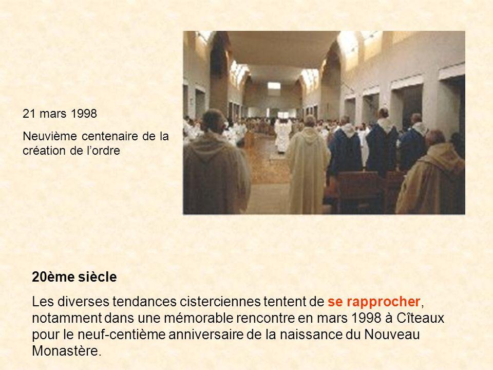 21 mars 1998 Neuvième centenaire de la création de l'ordre. 20ème siècle.