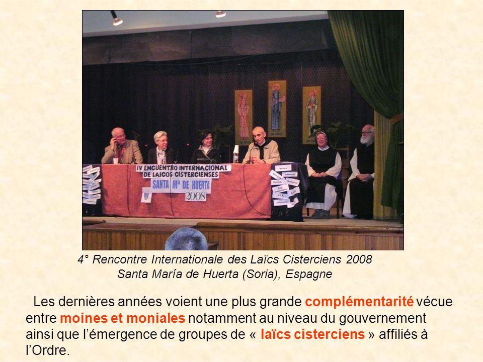 4° Rencontre Internationale des Laïcs Cisterciens 2008